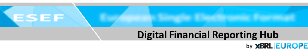 Digital Financial Reporting Hub by XBRL Europe